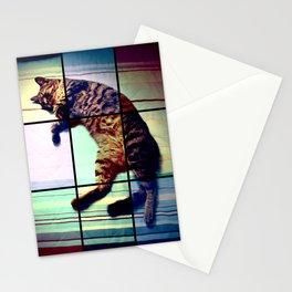 Cat (mosaico) Stationery Cards