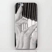 piano iPhone & iPod Skins featuring Piano by aurelia-art