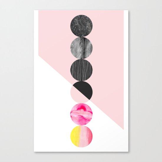 Stucatto Canvas Print