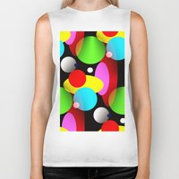 balloons Biker Tanks featuring Balloons by Artisimo