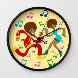 Köpke's Dance Off! Wall Clock