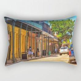Sun Soaked New Orleans Rectangular Pillow