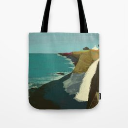The Coast of California Tote Bag