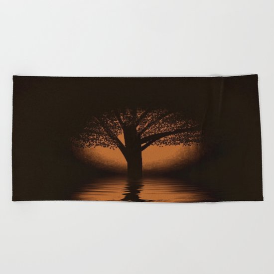 art-77 Beach Towel