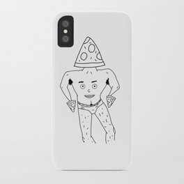 PIZZA PAPI (EYES OF THE CHEST 2) iPhone Case