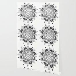 Intimate Symmetry Mandala Wallpaper
