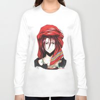 iwatobi Long Sleeve T-shirts featuring Free! Iwatobi Swim Club Rin by Mistiqarts