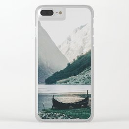 silence Clear iPhone Case