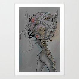AstroNuagghhtt  Art Print