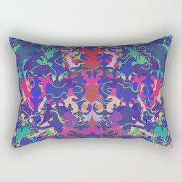 Baroque My World blue Rectangular Pillow