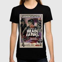 """DEAD GIRL SUPERSTAR """"RETURN OF THE BRAIN-EATERS"""" T-shirt"""