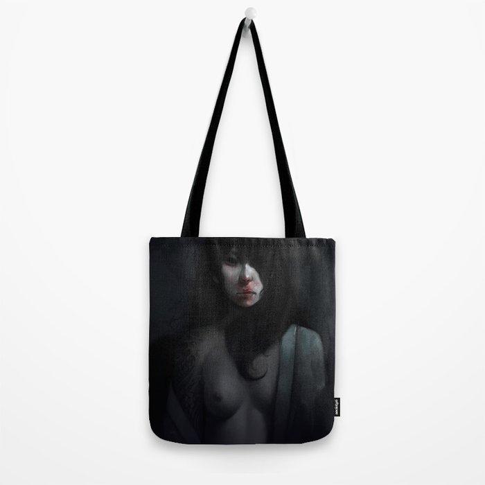 Portrait of Ikuko's Ghost Tote Bag