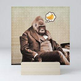 Gorilla My Dreams Mini Art Print