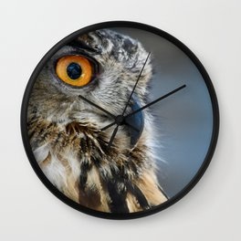 Eye of the Wise Wall Clock