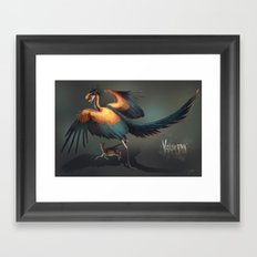 Volverna-Dragon Framed Art Print