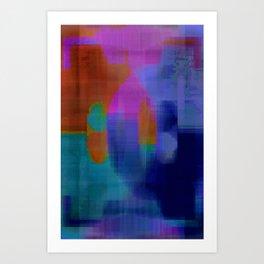 Digital#1 Art Print