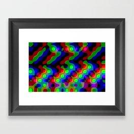 self-oscillating automaton Framed Art Print