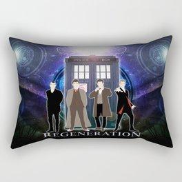 Regeneration Of The Doctor Rectangular Pillow