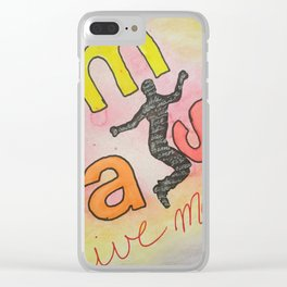Live Mas! Clear iPhone Case