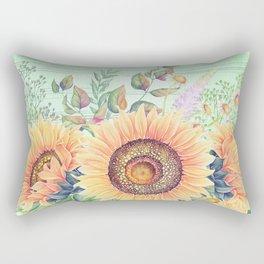 Flowers bouquet #66 Rectangular Pillow