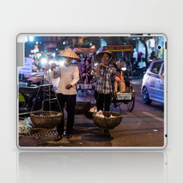 Women selling food in the streets of Hanoi Laptop & iPad Skin