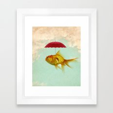 under cover goldfish 02 Framed Art Print