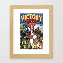 Victory Comics The Framed Art Print