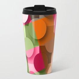 dots & squares Travel Mug