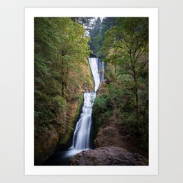 Bridal Veil Falls - Columbia River Gorge, Oregon Art Print