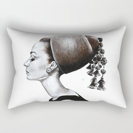 Audrey Hepburn Rectangular Pillow