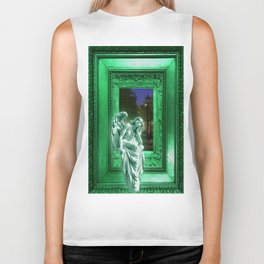 Angel of Bristol (Green) Biker Tank