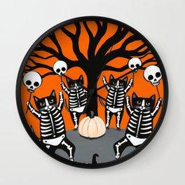 The Celebration of Halloween Wall Clock