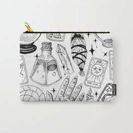 Fortune Teller Starter Pack Black and White Carry-All Pouch