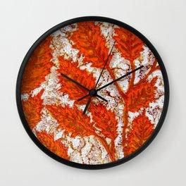 Happy autumn I Wall Clock