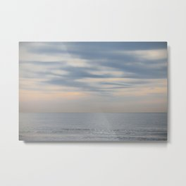 Morning at the ocean Metal Print