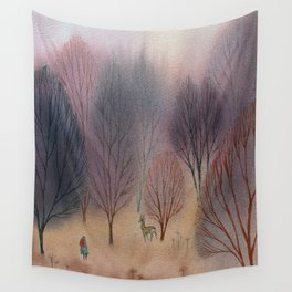 November Woods Wall Tapestry