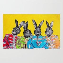 Rabbits band Rug