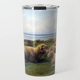 Rosa Bonheur Sheep by the Sea Travel Mug