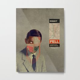 Fell Metal Print