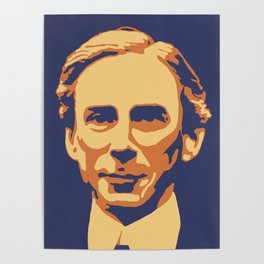Bertrand Russell Poster