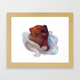 Mystic Grizzly Framed Art Print