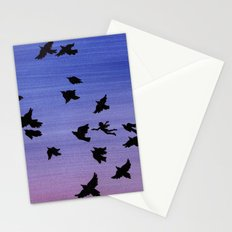 I won't apologize for being a bird Stationery Cards