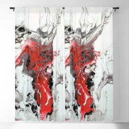 Bloodied Knights Steed Blackout Curtain