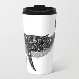 Galaxy Whale Travel Mug