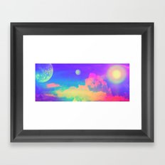 Celestial Bodies Framed Art Print