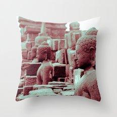Borobudur Throw Pillow