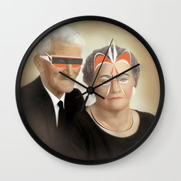 Animal Collective album art Wall Clock