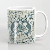 narwhal Mugs featuring Narwhal by AmKiLi