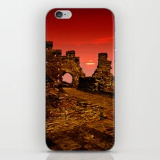 Sun Set Castle iPhone & iPod Skin