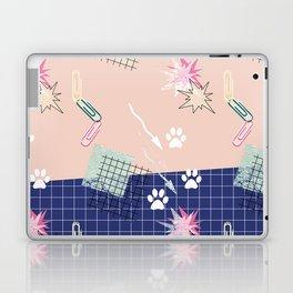 Memphis.Colorful retro pattern. Laptop & iPad Skin